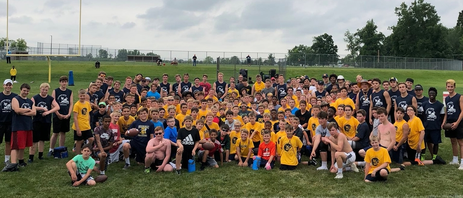 Football Camp Participants