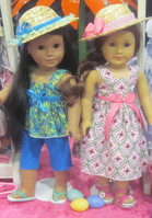 "Ehrenfeld's 18"" Doll Clothing, Summer Capri Outfit and Summer Sundress Outfit"