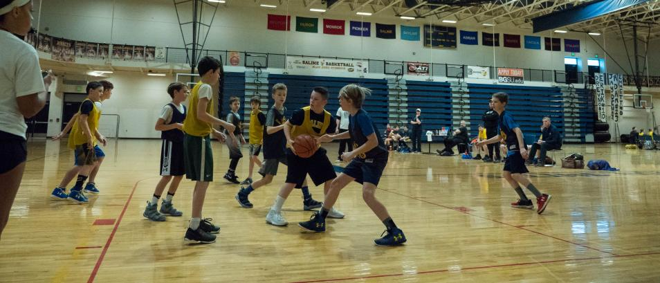 Recreation Basketball League Participants