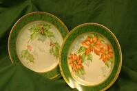 Meyer Hand Painted Christmas Pattern on China