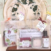 Just one of the many handmade clever bath & body gift sets  that Green Daffodil whips up for easy gift giving.