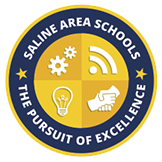 Saline Area Schools Logo - The Pursuit of Excellence