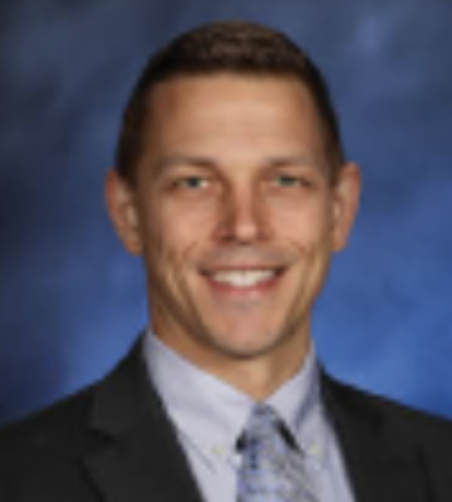 Picture of Alex Schukow, Saline Middle School Assistant Principal.