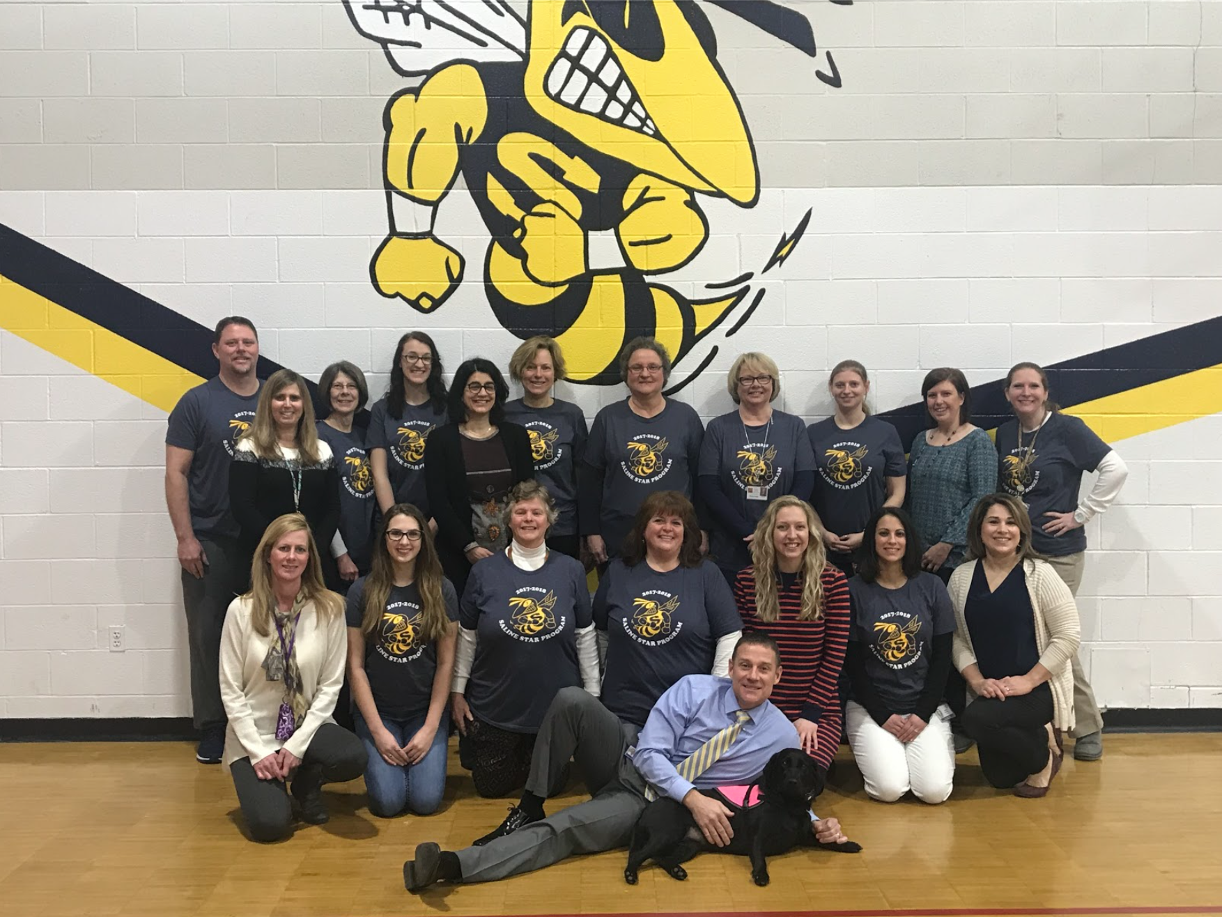 Pleasant Ridge Special Education team picture