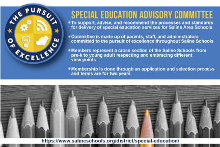 Special Ed Advisory Committee